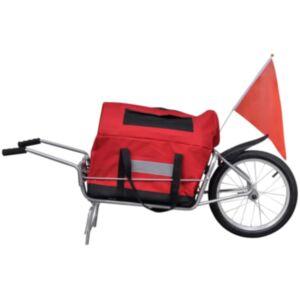 Jalgratta jalgratta järelkäru ühe rattaga kotiga