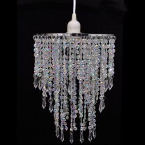 Kristallidega lühter 22,5x30,5 cm