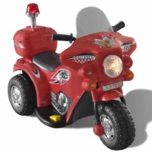 Patareiga laste mootorratas punane