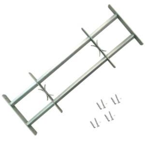 Reguleeritavad turvatrellid akendele kahe trelliga 700-1050 mm