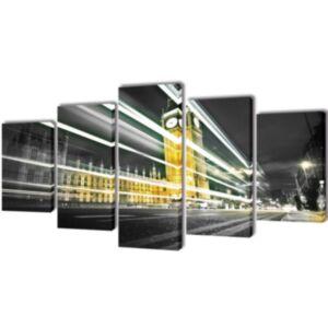 Seinamaalikomplekt London Bin Ben, 100 x 50 cm