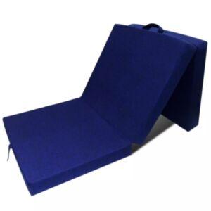 Pood24i kokkupandav vahtmadrats 190 x 70 x 9 cm, sinine