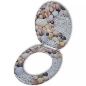 MDFist prill-laud kaanega, kiviklibu disain