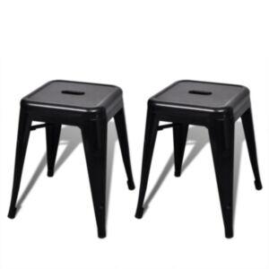 Pood24i toolid 2 tk virnastatav, metallist, must