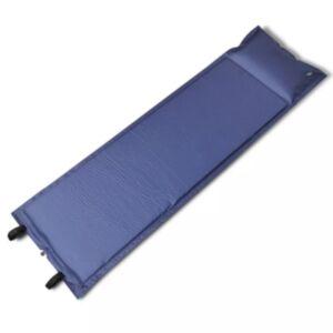 Sinine isetäituv magamismatt 185 x 55 x 3 cm (ühene)