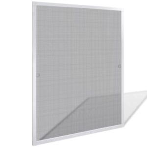 Valge putukavõrk aknale 80 x 100 cm
