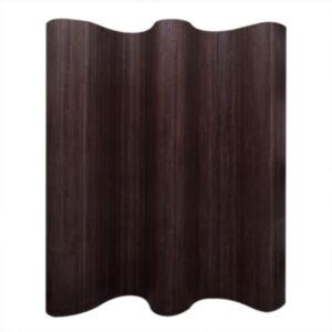 Pood24i Bambusest ruumijagaja tumepruun 250 x 195 cm