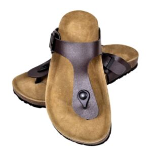 Korktallaga sandaalid mõlemale soole, suurus 40 pruun