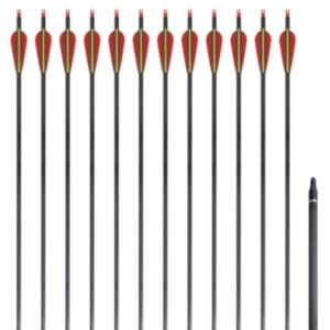 Süsiniktorust vibunooled 30 tolli 0,76 cm 12 tk