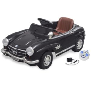 Elektriline lasteauto Mercedes Benz 300SL puldiga, must