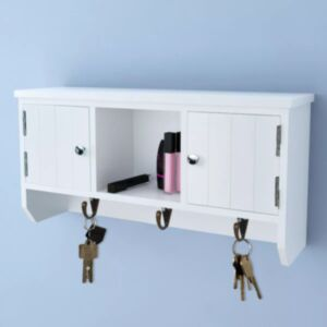 Pood24 seinakapp võtmete ja ehete jaoks uste ja konksudega