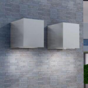 Pood24i kuubikujuline õue seinavalgusti 2 tk