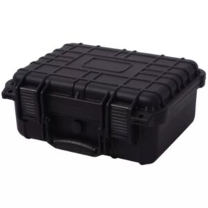 Pood24i kaitsev transpordikohver 35 x 29,5 x 15  cm must