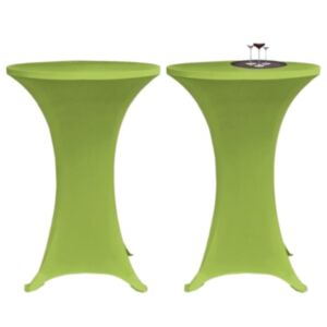 Pood24i venivad lauakatted 2 tk 70 cm roheline