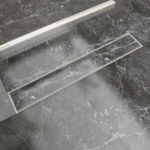 Pood24i lineaarne duši äravoolusüsteem 730 x 140 mm roostevaba teras