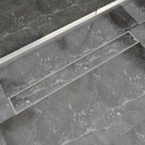 Pood24i lineaarne duši äravoolusüsteem 930 x 140 mm roostevaba teras