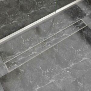 Pood24i lineaarne duši äravoolusüsteem 1030 x 140 mm roostevaba teras