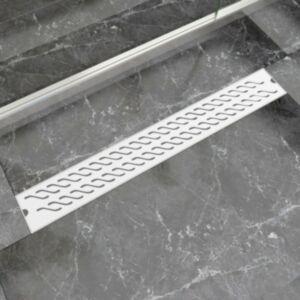 Pood24i lineaarne duši äravooluava laine 830 x 140 mm roostevaba teras