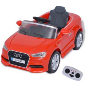 Pood24i elektriline pealeistutav puldiga auto Audi A3 punane