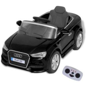 Pood24i elektriline pealeistutav puldiga auto Audi A3 must