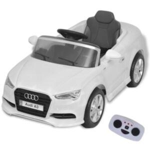 Pood24i elektriline pealeistutav puldiga auto Audi A3 valge