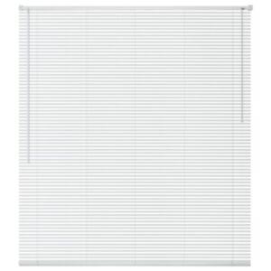 Pood24i alumiiniumist aknakate 80 x 130 cm, valge