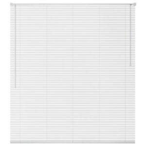 Pood24i alumiiniumist aknakatted 60 x 220 cm, valge