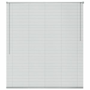 Pood24 alumiiniumist aknakate 80 x 130 cm, hõbedane