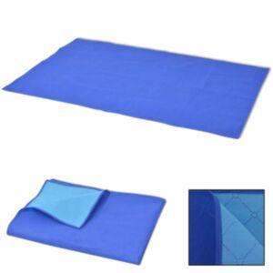 Pood24 piknikulina sinine ja helesinine 100 x 150 cm