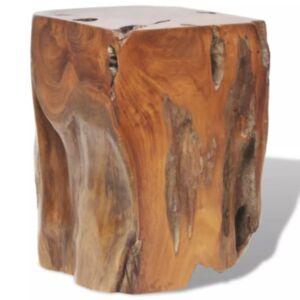 Pood24i taburet tiigipuidust 30 x 30 x 40 cm