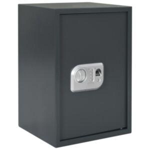 Pood24 digitaalne seif sõrmejäljelugejaga, tumehall, 35 x 31 x 50 cm