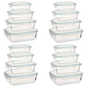 Pood24 klaasist toidu hoiukarbid, 16 tk
