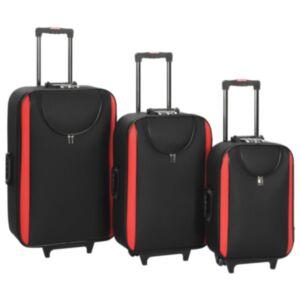 Pood24 pehmed kohvrid, 3 tk, must, oxford-kangas