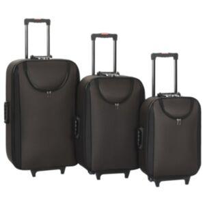 Pood24 pehmed kohvrid, 3 tk, pruun, oxford-kangas