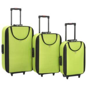 Pood24 pehmed kohvrid, 3 tk, roheline, oxford-kangas