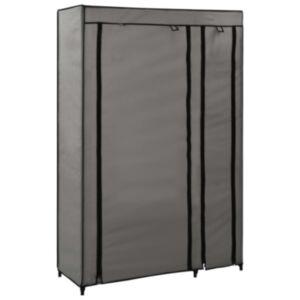 Pood24 kokkupandav riidekapp, hall, 110 x 45 x 175 cm, kangas