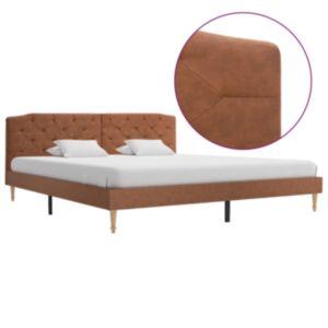 Pood24 voodiraam, pruun kangas, 180 x 200 cm