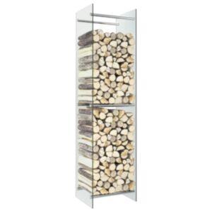 Pood24 küttepuude rest, läbipaistev, 40 x 35 x 160 cm, klaas