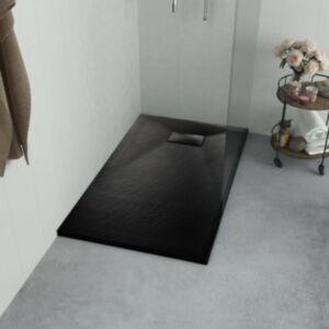 Pood24 dušialus, SMC, must, 90 x 80 cm