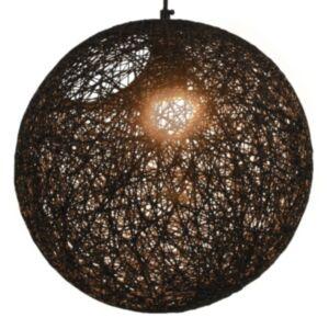 Pood24 laelamp, must, kera, 35 cm, E27