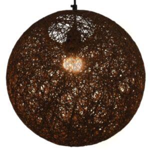 Pood24 laelamp, pruun, kera, 35 cm, E27