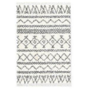Pood24 vaip, berberi, karvane, PP, beež ja hall 80 x 150 cm