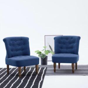 Pood24 Prantsuse tool, sinine, kangas