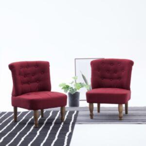 Pood24 Prantsuse tool, veinipunane, kangas