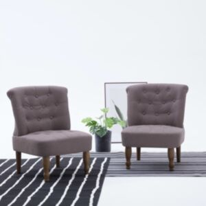 Pood24 Prantsuse tool, pruunikashall, kangas
