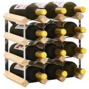 Pood24 veiniriiul 12 pudelile, männipuit