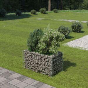 Pood24 gabioon-taimekast, tsingitud teras, 90 x 50 x 50 cm