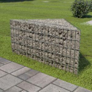 Pood24 gabioon-taimekast, tsingitud teras, 75 x 75 x 50 cm