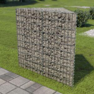 Pood24 gabioon-taimekast, tsingitud teras, 75 x 75 x 100 cm