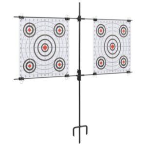 Pood24 paberist sihtmärgi alus sihtmärkidega 78 x 76 cm, teras